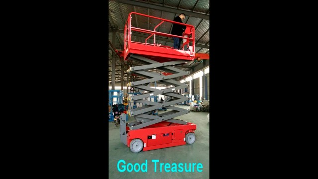 Self propelled mobile electric scissor lift thumbnail image
