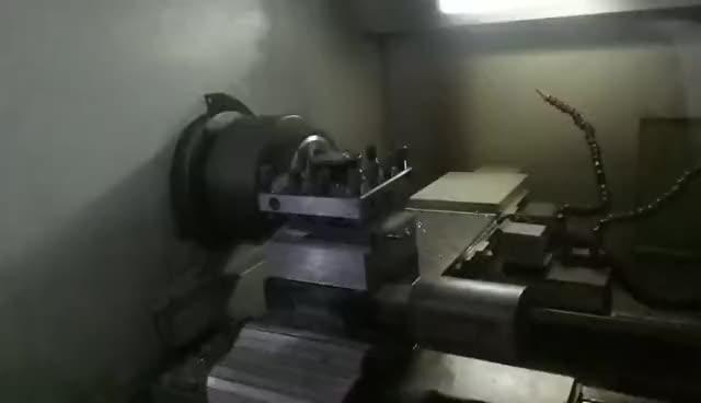 Resin bonded grinding wheel processing thumbnail image