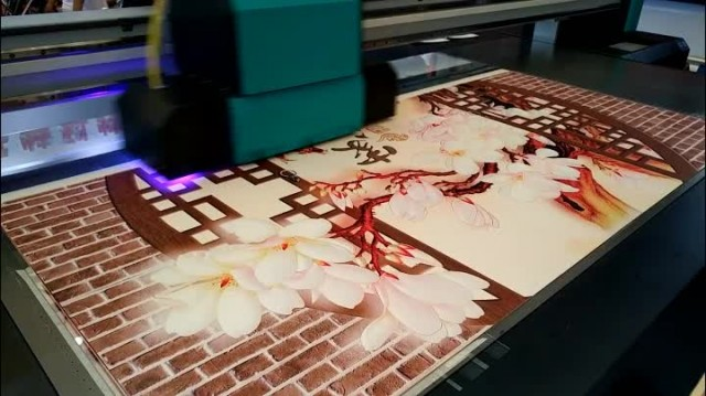 2.5m*1.3m UV flatbed printer with Ricoh Gen5 heads thumbnail image