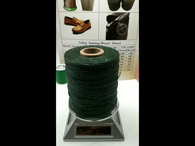 Waxed thread for shoes sofa leather products thumbnail image
