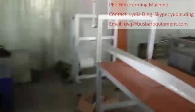busbar mylar film folding machine