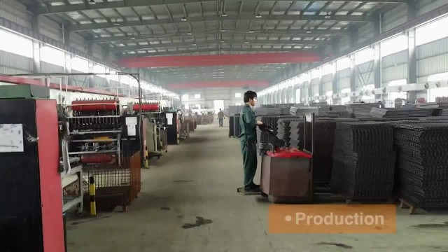 wire mesh container for warehouse storage thumbnail image