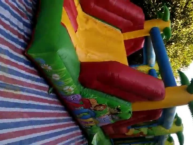30 Feet Tropical Mini Inflatable Obstacle Course thumbnail image