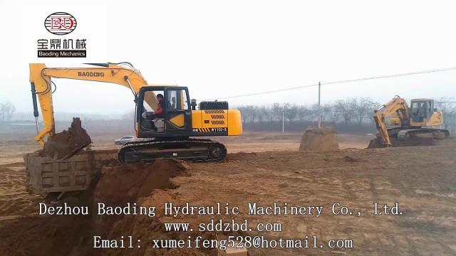 Crawler Excavator BD150 working video