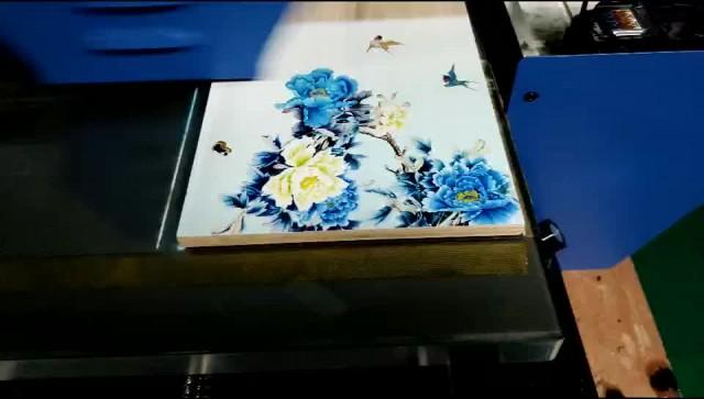 UV printer for plastic, wood, leather, glass. thumbnail image