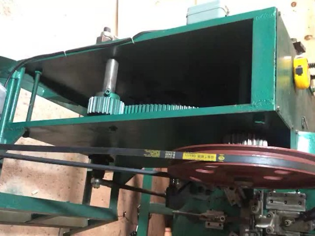 "Machine for making strapping buckle 3/4"" thumbnail image"