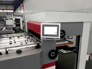 SKM Automatic Die Cutting machine. thumbnail image