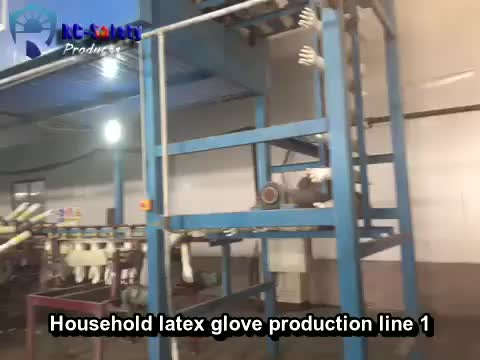 AIBON  household rubber glove production line -1