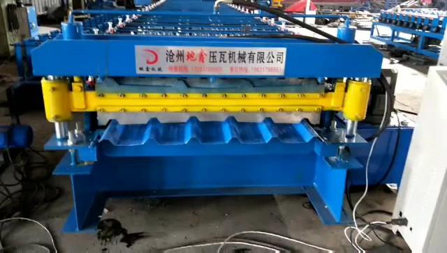 Double layer trapezoidal roll forming machine thumbnail image