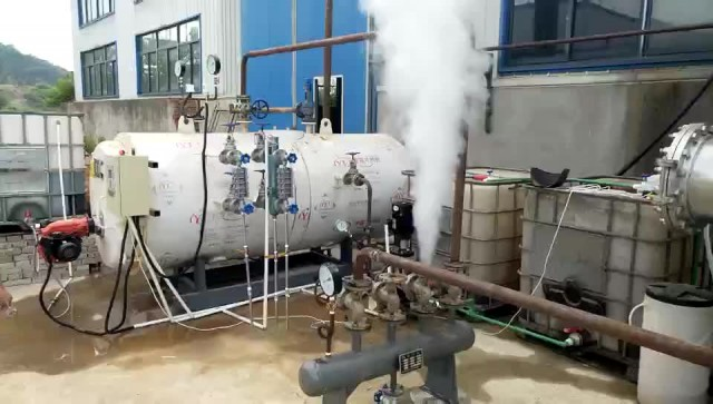 How does the steam boiler work? thumbnail image