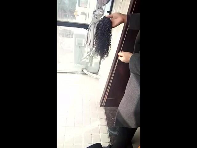 kinkiy curly human hair thumbnail image