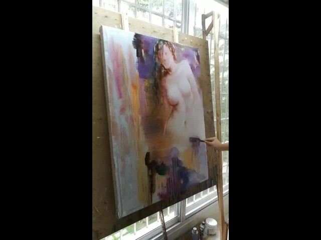 hand-made oil painting