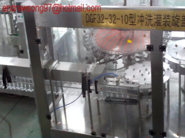 beverage bottling machinery