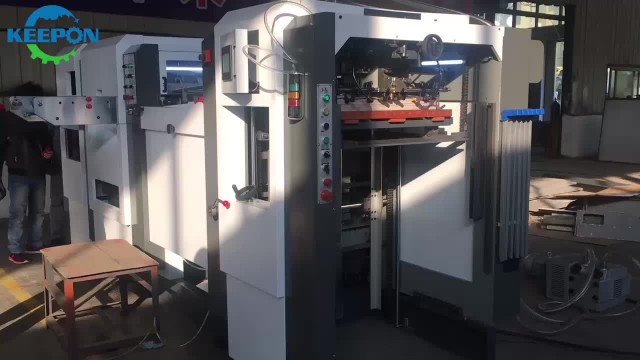 AD-800E Automatic Die Cutting and Creasing Machine thumbnail image