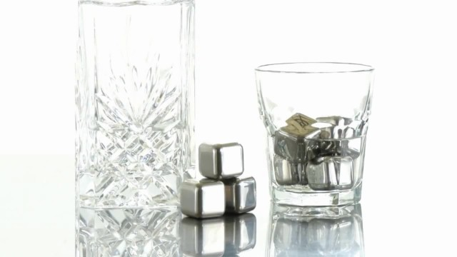 Stainless steel whisky stone