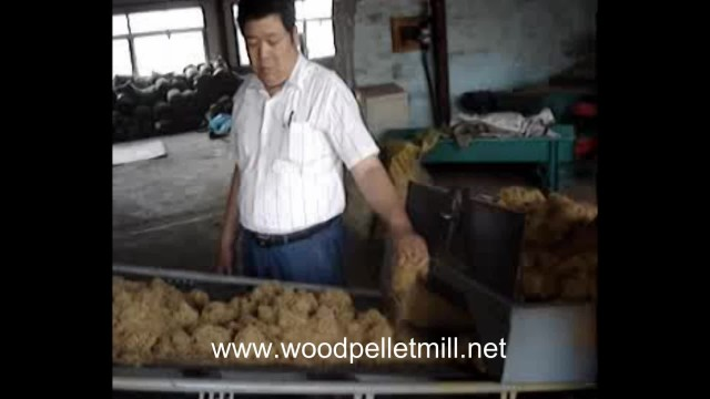biomass wood sawdust palm rice husk pellet mill