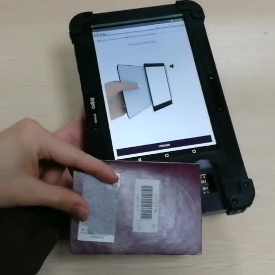 Telpo TPS450 biometric tablet with passport reader thumbnail image