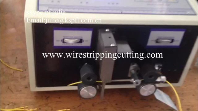 PFL-01 Automatic slim wire stripping machine thumbnail image