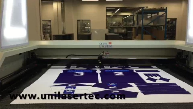 Sportswear Laser Cutting Machine thumbnail image