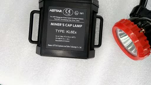 ATEX miner's cap lamp, explosion-proof lamp