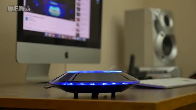Levitating Floating Magnetic Bluetooth Speaker thumbnail image