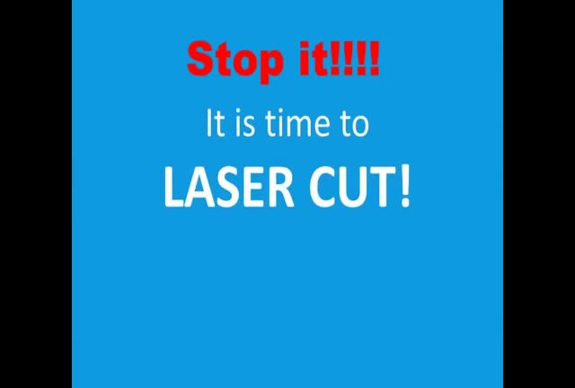 laser die cutting machine for Corrugated carton