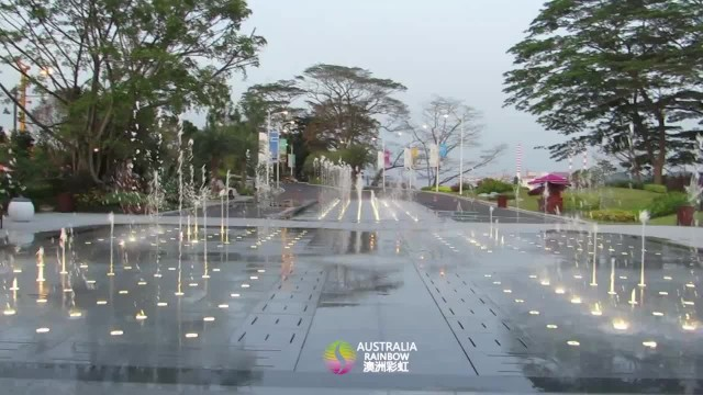 Dry fountain in Malaysia Fuli real estate project thumbnail image