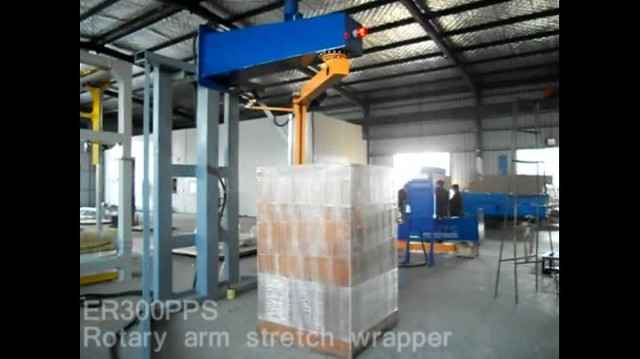 ER300PPS Rotary arm stretch wrapper/pallet wrapper thumbnail image