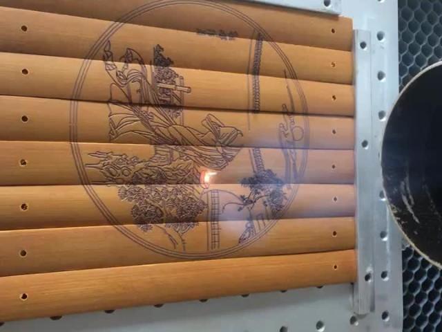 Bamboo slip engraving