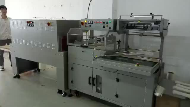 Calpack 250 automatic shrink & Seal machine