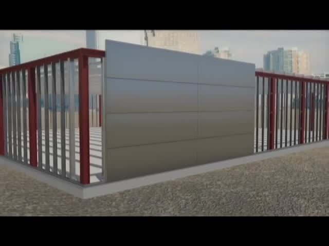 Sandwich Panel Installation On-site thumbnail image