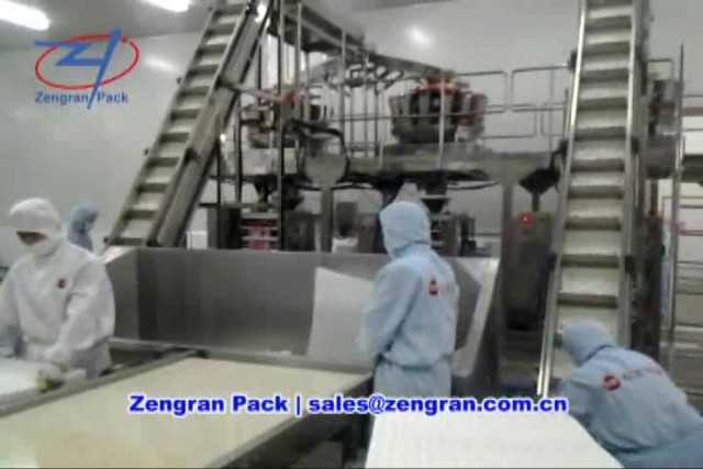 Automatic Frozen Foods Packaging Machine - Zengran thumbnail image