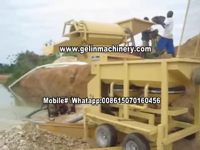 10tph gold washling plant thumbnail image