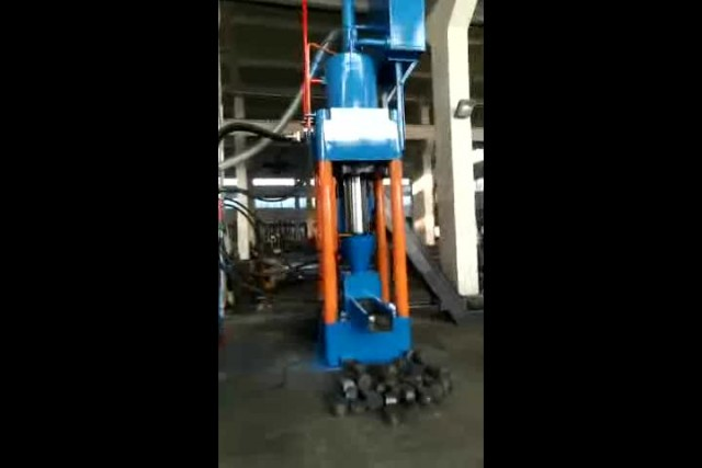 Metal Chip briquette press machine