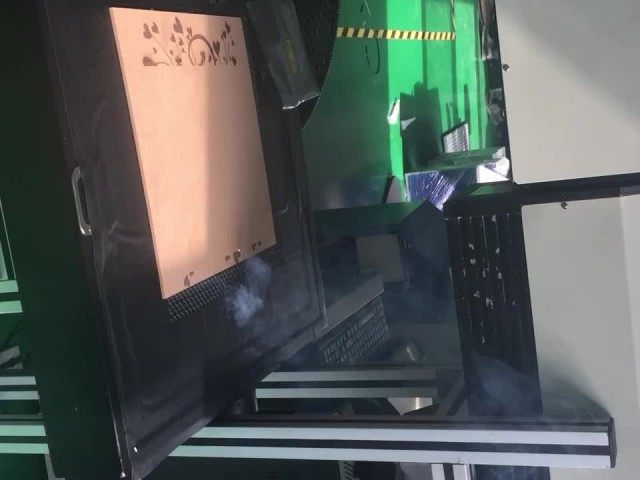 CO2 laser marking machine in wood thumbnail image