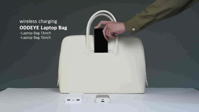 Wireless charging Briefcase