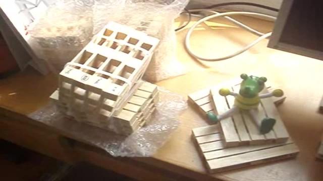 Wood Pallet Glass Coaster thumbnail image