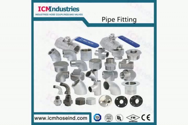 Stainless Steel Cross ISO 4144 Pipe Fitting thumbnail image