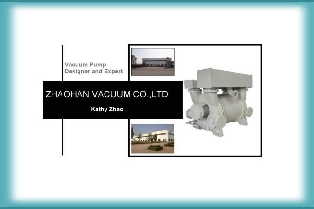 Liquid Ring Vacuum Pump for different application