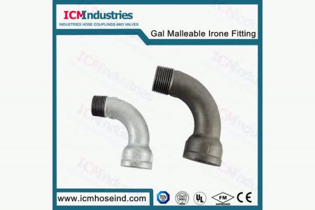 UL FM Galvanized Malleable Iron Pipe Fitting thumbnail image