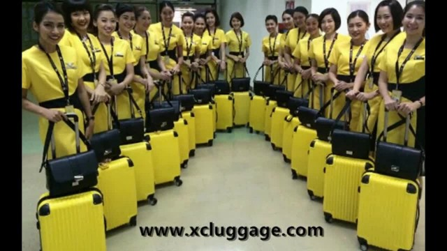 Professional luggage manufactory in China