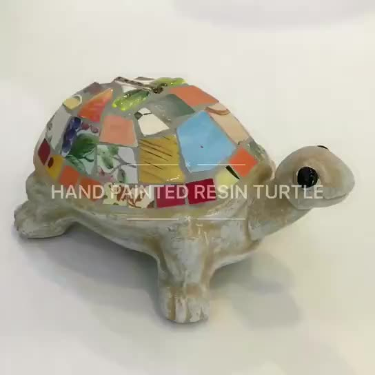 Hand Made Outdoor Ceramic Garden tortoise(27272) thumbnail image
