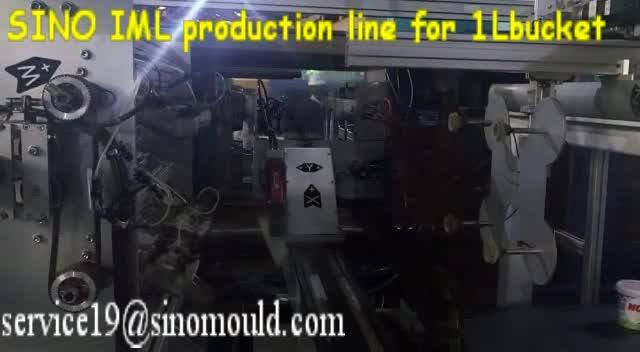 bucket molding line with IML robot produciton thumbnail image