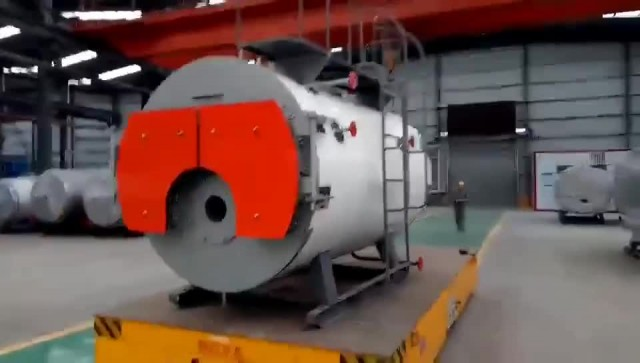 150hp Gas Oil fired steam boiler for Food Industry thumbnail image