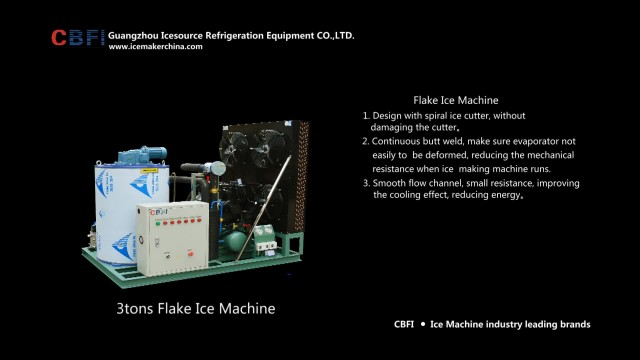 CBFI ice flake machine thumbnail image