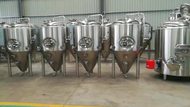 gas direct fire heating beer equipment thumbnail image
