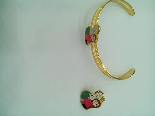 Lovely children jewelry ,Gold plated bracelet thumbnail image