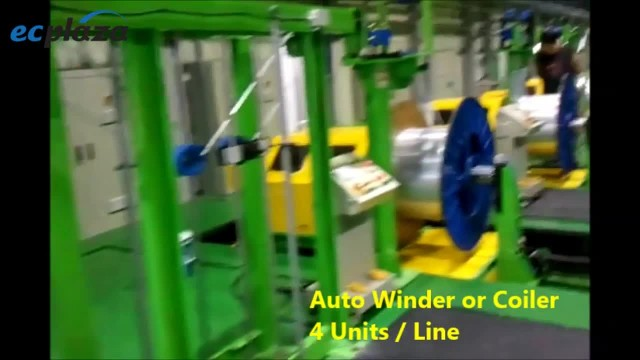 Auto Winder for MPE Tube production line