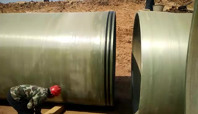 Installation of DN2400 GRP pipe thumbnail image