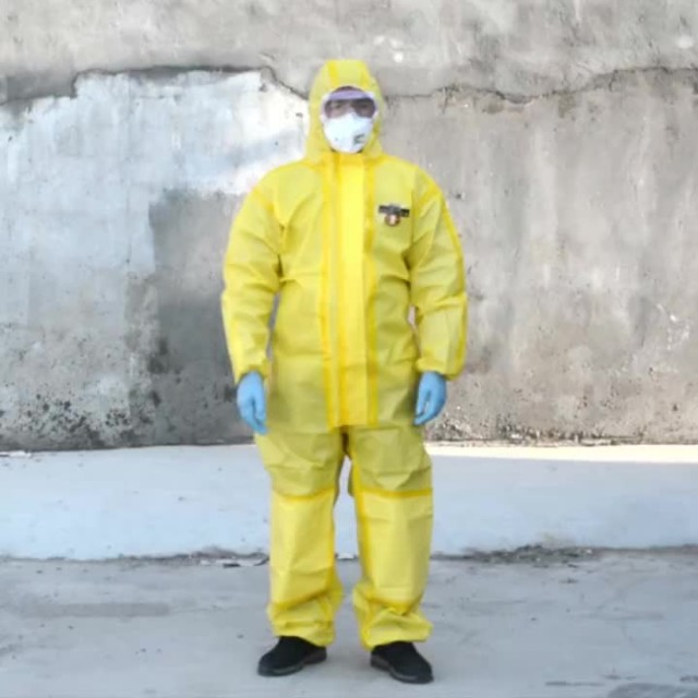 disposable chemical suits